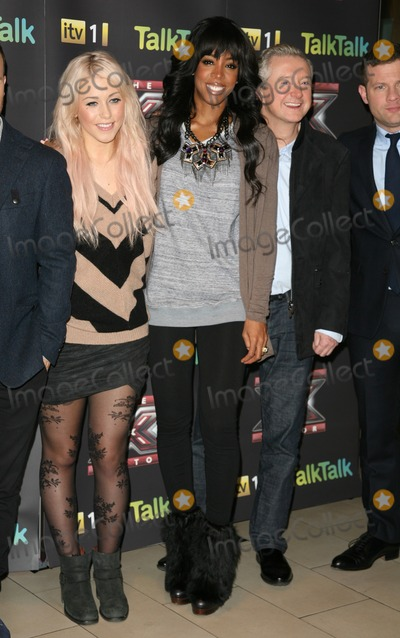 Amelia Lily Photo - Kelly Rowland Amelia Lily and Louis Walsh attending an X Factor Finalists Photocall at Wembley Arena London 08122011 Picture by Alexandra Glen  Featureflash