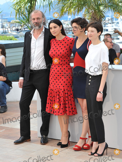 Alba Rohrwacher Photo - Alice Rohrwacher Monica Bellucci Alba Rohrwacher  Sam Louwyck at the photocall for their movie The Wonders at the 67th Festival de CannesMay 18 2014  Cannes FrancePicture Paul Smith  Featureflash