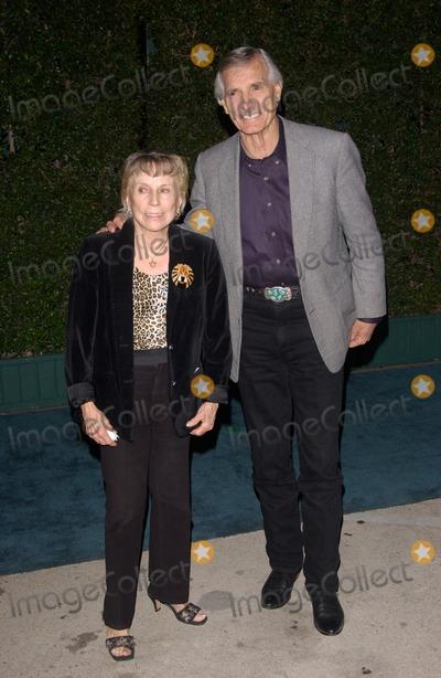 Dennis Weaver Photo - Nov 17 2004 Los Angeles CA Actor DENNIS WEAVER  wife at the 14th Annual Environmental Media Awards in Los Angeles
