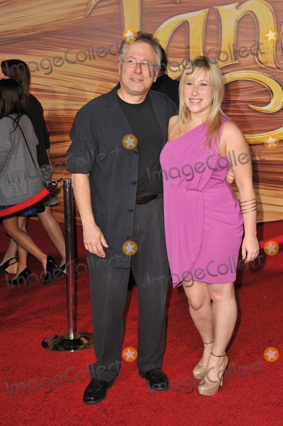 Alan Menken Photo - Composer Alan Menken  daughter Anna at the world premiere of his new movie Tangled at the El Capitan Theatre HollywoodNovember 14 2010  Los Angeles CAPicture Paul Smith  Featureflash