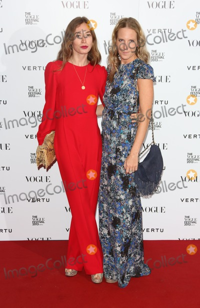 Alice Naylor-Leyland Photo - Anouska Beckwith Alice Naylor Leyland at the Vogue Festival party 2013 held at the Southbank Centre London  27042013 Picture by Henry Harris  Featureflash