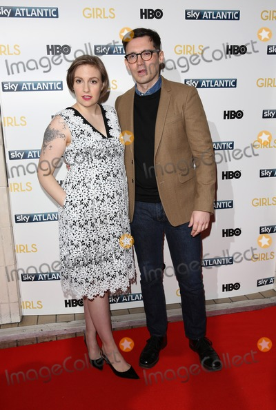 Lena Dunham Photo - Lena Dunham Erdem Moralioglu arriving for the Girls - UK premiere of the third series held at the Cineworld Haymarket - Arrivals London 15012014 Picture by Henry Harris  Featureflash