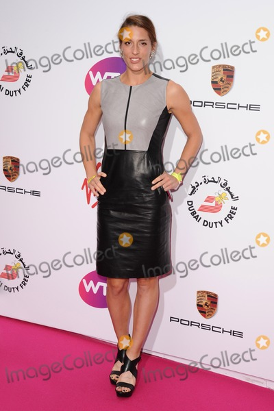 Andrea Petkovic Photo - Andrea Petkovic arrives for the WTA Pre-Wimbledon Party 2014 at the Kensington Roof Gardens London 19062014 Picture by Steve Vas  Featureflash