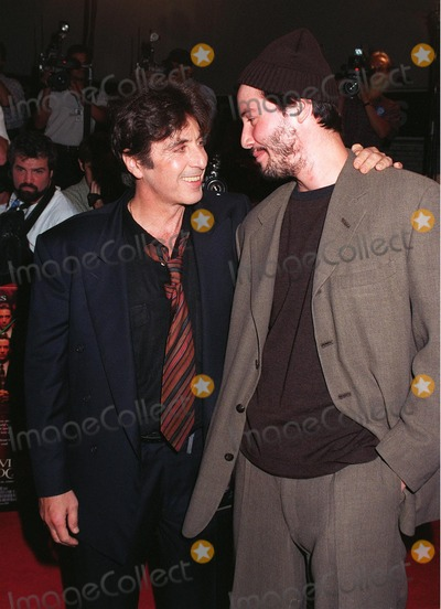 Al Pacino Photo - 13OCT97 Actors AL PACINO (left)  KEANU REEVES at the world premiere of their new movie Devils Advocate in Los Angeles