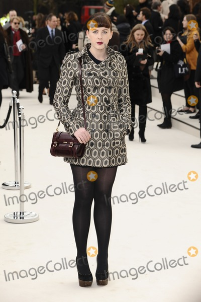 Alexandra Roache Photo - Alexandra Roach arriving for the Burberry Prorsum fashion show as part of London Fashion Week 2012 AW in Kensington Gardens London 20022012 Picture by Steve Vas  Featureflash