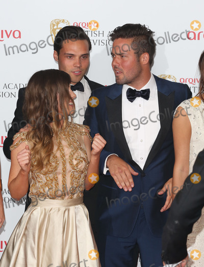 Andy Jordan Photo - Louise Thompson Andy Jordan and Spencer Matthews in the press room at the TV BAFTA Awards 2013 Royal Festival Hall London 12052013 Picture by Henry Harris  Featureflash