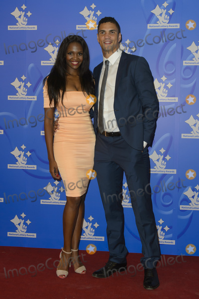 Anthony Ogogo Photo - Otile Mabuse  Anthony Ogogo at the National Lottery Awards 2015 at LWT Studios Southbank LondonSeptember 11 2015  London UKPicture Dave Norton  Featureflash