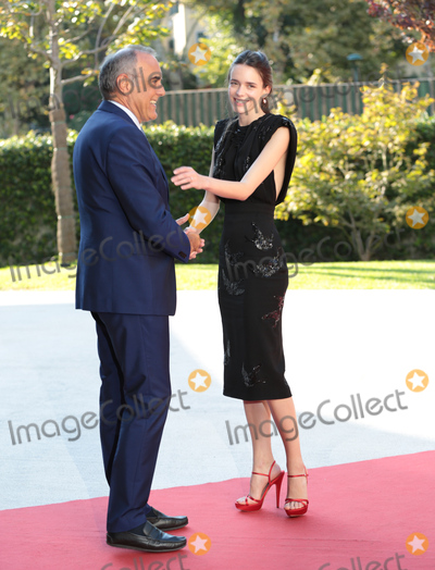 Alberto Barbera Photo - Venice Film Festival director Alberto Barbera  actress Stacy Martin  at the premiere of Taj Mahal at the 2015 Venice Film FestivalSeptember 10 2015  Venice ItalyPicture Kristina Afanasyeva  Featureflash