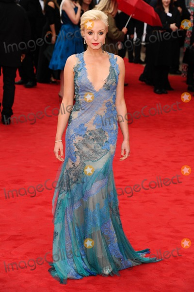 Helen George Photo - Helen George arriving for the TV BAFTA Awards 2013 Royal Festival Hall London 12052013 Picture by Steve Vas  Featureflash