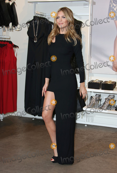 Abbey Clancy Photo - Abbey Clancy at photocall to launch her new occasion wear collection for Matalan at Oxford Street London November 4 2015  London UKPicture James Smith  Featureflash