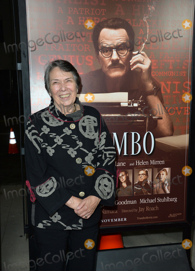 Niki Trumbo Photo - Niki Trumbo daughter of screenwriter Dalton Trumbo at the US premiere of Trumbo at the Academy of Motion Picture Arts  Sciences Beverly HillsOctober 27 2015  Los Angeles CAPicture Paul Smith  Featureflash