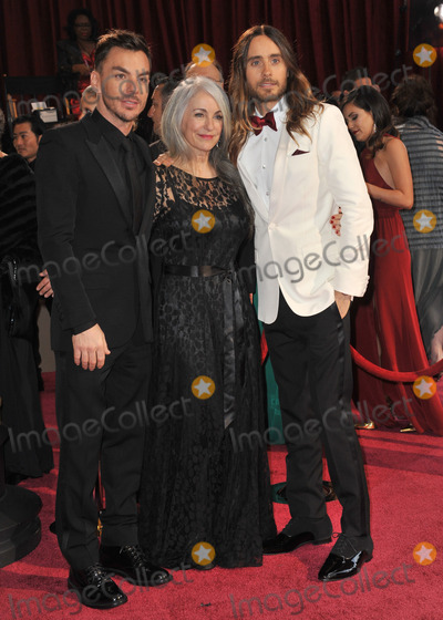 Shannon Leto Photo - Jared Leto  Constance Leto  Shannon Leto at the 86th Annual Academy Awards at the Dolby Theatre HollywoodMarch 2 2014  Los Angeles CAPicture Paul Smith  Featureflash