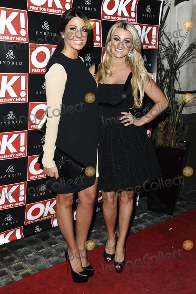 Billie Mucklow Photo - Cara Kilby and Billi Mucklow arrives for the Hybrid London Fashion Week Party at Jewel London 22022012 Picture by Steve Vas  Featureflash
