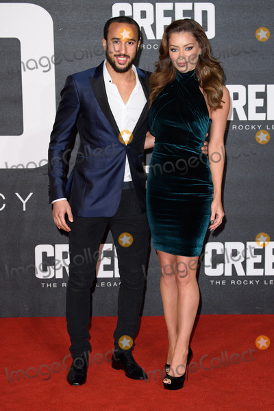 Andros Townsend Photo - Andros Townsend at the UK premiere of Creed The Rocky Legacy at the Empire Leicester Square London January 12 2016  London UKPicture Steve Vas  Featureflash