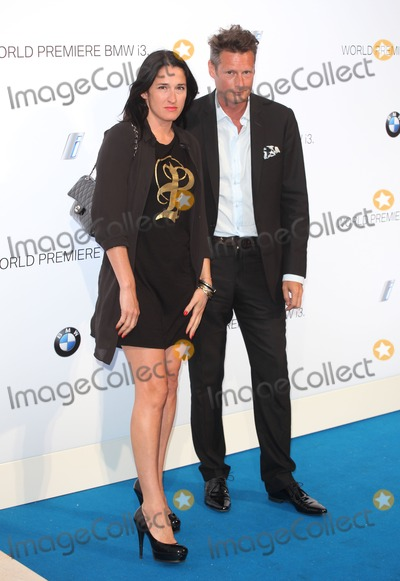 Amy Molyneaux Photo - PPQ designers Percy Parker and Amy Molyneaux arriving for the BMW i3 Launch Party at Old Billingsgate London 29072013 Picture by Alexandra Glen  Featureflash