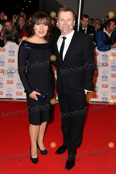 Aled Jones Photo - Lorraine Kelly and Aled Jones arriving for the National Television Awards 2013 at the O2 Arena London 23012013 Picture by Steve Vas  Featureflash
