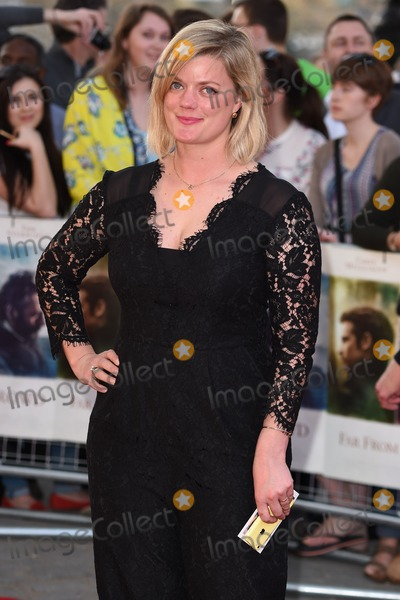 Alexandra Heminsley Photo - Alexandra Heminsley arrives for the World premiere of Far From The Madding Crowd at the BFI South Bank London 15042015 Picture by Steve Vas  Featureflash