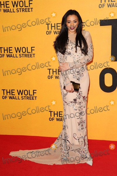 Amal Fashanu Photo - Amal Fashanu arriving for the UK Premiere of The Wolf Of Wall Street Odeon Leicester Square London 09012014 Picture by Steve Vas  Featureflash