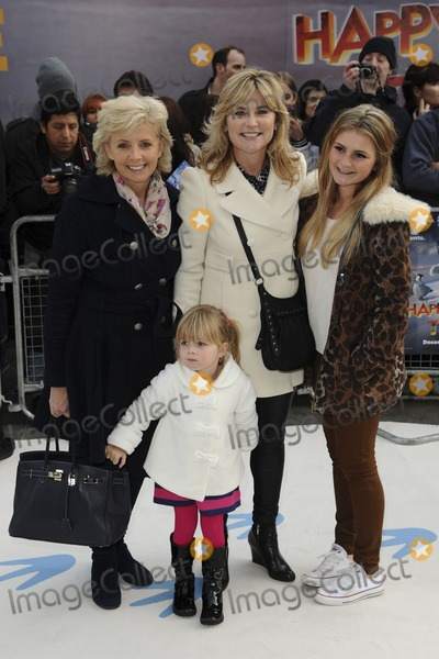 Anthea Turner Photo - Anthea Turner arrives for the Happy Feet 2 premiere at the Empire Leicester Square London 20112011  Picture by Steve Vas  Featureflash