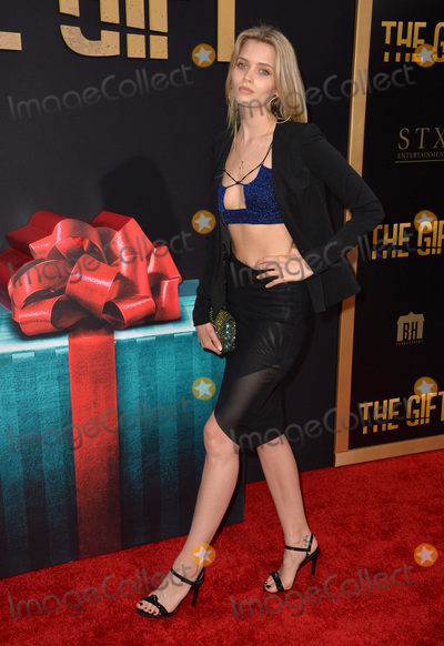 Abbey Lee Photo - Abbey Lee at the world premiere of The Gift at the Regal Cinemas LA LiveJuly 30 2015  Los Angeles CAPicture Paul Smith  Featureflash