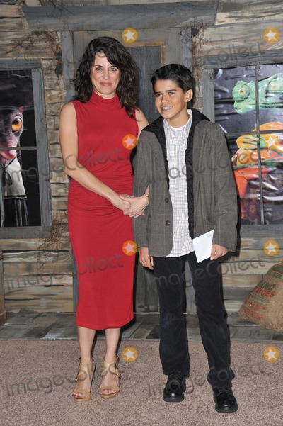 Alana Ubach Photo - Alana Ubach  nephew Alex at the Los Angeles premiere of her new animated movie Rango at the Regency Village Theatre WestwoodFebruary 14 2011  Los Angeles CAPicture Paul Smith  Featureflash
