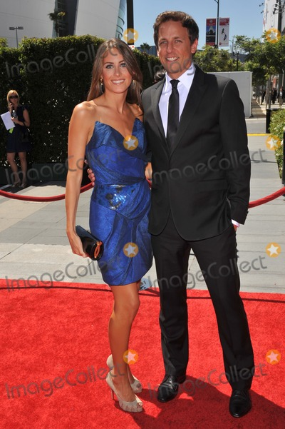 Alexi Ashe Photo - Seth Meyers  Alexi Ashe at the 2010 Creative Arts Emmy Awards at the Nokia Theatre LA LiveAugust 21 2010  Los Angeles CAPicture Paul Smith  Featureflash