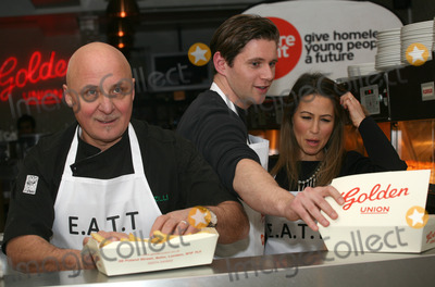 Aldo Zilli Photo - Rachel Stevens and Aldo Zilli during the  EATT (Eat at the Table) photocall The Golden Union Chip Shop  London 08022012 Picture by Alexandra Glen  Featureflash