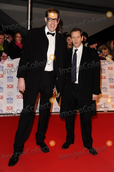 Alexander Armstrong Photo - Richard Osman and Alexander Armstrong arriving for the National Television Awards 2013 at the O2 Arena London 23012013 Picture by Steve Vas  Featureflash