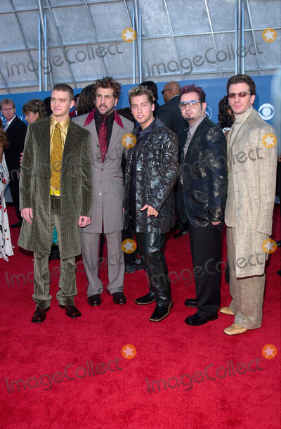 NSYNC Photo - Pop group NSYNC at the 43rd Annual Grammy Awards in Los Angeles21FEB2001   Paul SmithFeatureflash