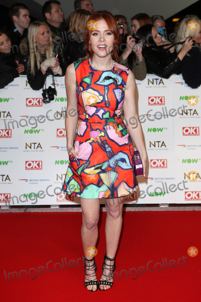 Ashleigh Defty Photo - Angela Scanlon attending the National Television Awards 2016 The O2 London on 20012016 Picture by Kat Manders  Featureflash