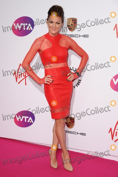 Agnieszka Radwanska Photo - Agnieszka Radwanska arrives for the WTA Pre-Wimbledon Party 2014 at the Kensington Roof Gardens London 19062014 Picture by Steve Vas  Featureflash