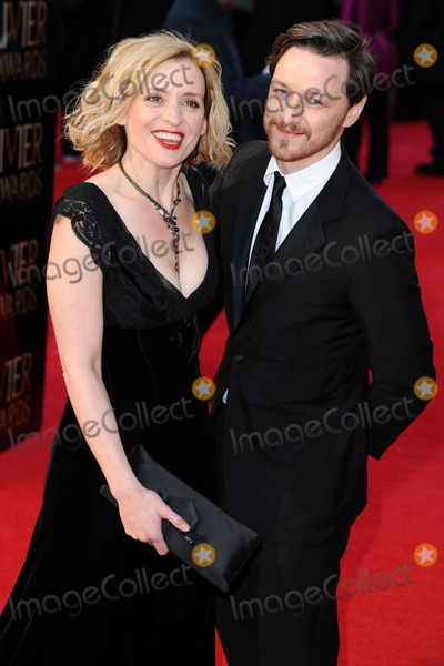 Anne Marie Duff Photo - James McAvoy and Anne Marie Duff arrives for the Olivier Awards 2012 at the Royal Opera House Covent Garden London 15042012 Picture by Steve Vas  Featureflash