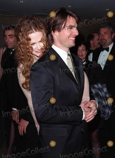 John Huston Photo - 17APR98  Actor TOM CRUISE  actress wife NICOLE KIDMAN at the Beverly Hilton Hotel where he was honored with the 1998 John Huston Award by the Artists Rights Foundation