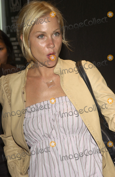 Christina Applegate Photo - Actress CHRISTINA APPLEGATE at concert by Duran Duran at The Roxy in Los Angeles where they were performing in their first US concert in 18 years July 15 2003 Paul Smith  Featureflash