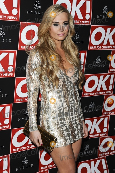 Amanda Harrington Photo - Amanda Harrington (Desperate Scousewives) arrives for the Hybrid London Fashion Week Party at Jewel London 22022012 Picture by Steve Vas  Featureflash