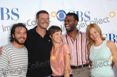 Abby Brammell Photo - The Unit stars MICHAEL IRBY (left) SCOTT FOLEY AUDREY MARIE ANDERSON DEMORE BARNES  ABBY BRAMMELL at the CBS Summer Press Tour Stars Party at the Rose Bowl in Pasadena CA July 15 2006  Pasadena CA 2006 Paul Smith  Featureflash
