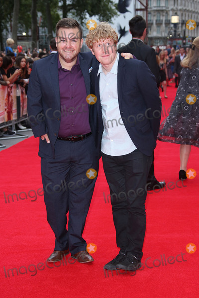 Alex Brooker Photo - Alex Brooker  Josh Widdicombe at the UK premiere of Bad Education at the Vue Cinema August 20 2015  London UKPicture James Smith  Featureflash