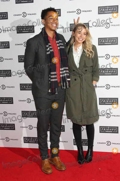 Sacha Parkinson Photo - Sacha Parkinson  Jordan Stephens at the launch of Comedy Centrals FriendsFest at the Boiler House London September 15 2015  London UKPicture James Smith  Featureflash