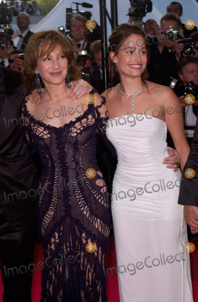 Natalie Baye Photo - Stars of the French version of Absolutely Fabulous NATALIE BAYE (left)  MARIE GILLAIN at the Cannes Film Festival for the premiere of The Pledge15MAY2001  Paul SmithFeatureflash