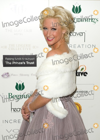 Faye Tozer Photo - Faye Tozer arriving for The Princes Valentines Ball in aid of the Princes Trust at the May Fair Hotel in London 14022012 Picture by Simon Burchell  Featureflash