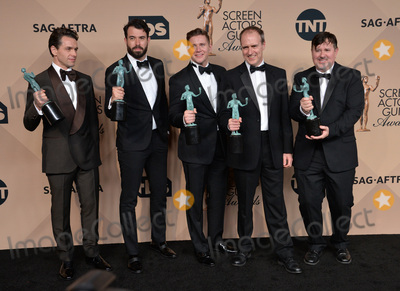 Allen Leech Photo - Downton Abbey stars Julian Ovenden Tom Cullen Allen Leech Kevin Doyle  Jeremy Swift at the 22nd Annual Screen Actors Guild Awards at the Shrine Auditorium January 30 2016  Los Angeles CAPicture Paul Smith  Featureflash