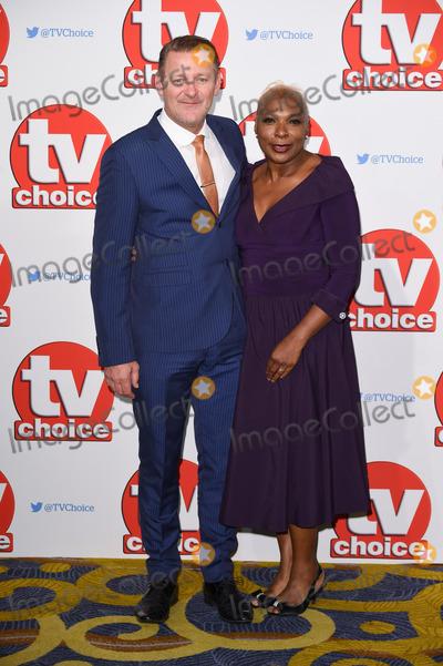Chris Walker Photo - Chris Walker  Lorna Laidlaw at the TV Choice Awards 2015 at the Hilton Hotel Park Lane LondonSeptember 7 2015  London UKPicture Steve Vas  Featureflash