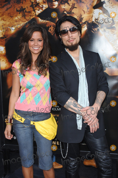 Dave Navarro Photo - Actress BROOKE BURKE  musician DAVE NAVARRO at the Los Angeles premiere of Batman BeginsJune 6 2005 Los Angeles CA 2005 Paul Smith  Featureflash