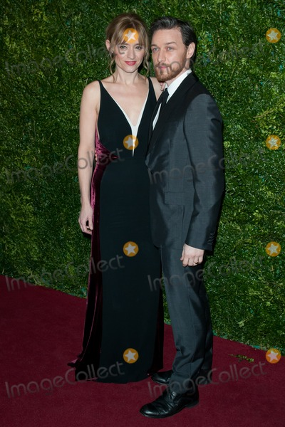 Anne Marie Duff Photo - Anne Marie Duff and James McAvoy arriving for the Evening Standard Theatre Awards The London Palladium 30112014 Picture by Dave Norton  Featureflash