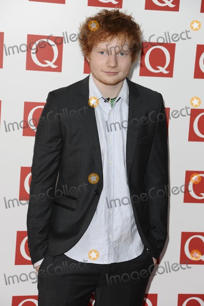 Ed Sheeran Photo - Ed Sheeran arriving for the Q magazine Awards 2001 at the Grosvenor House Hotel London 24102011 Picture by Steve Vas  Featureflash
