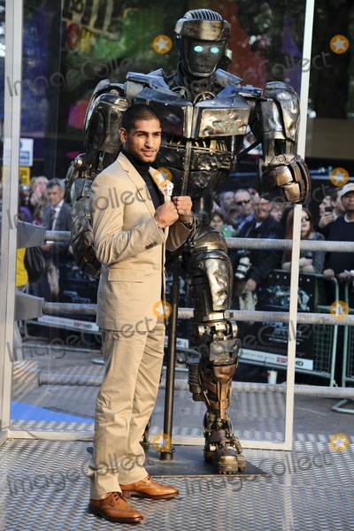 Amir Khan Photo - Amir Khan arrives for the Real Steel premiere at the Empire Leicester Square London 14092011  Picture by Steve Vas  Featureflash