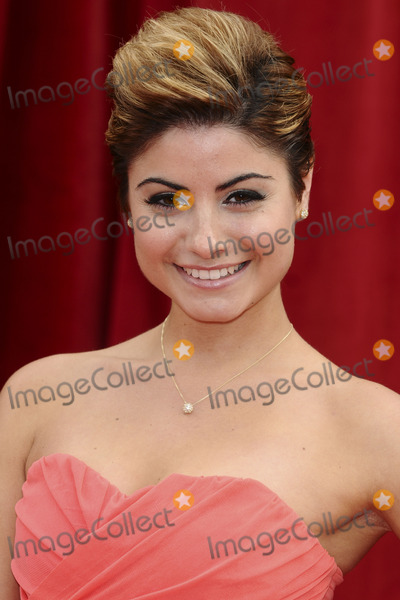 Sapphire Elia Photo - Sapphire Elia arrives at the British Soap awards 2011 held at the Granada Studios Manchester14052011  Picture by Steve VasFeatureflash