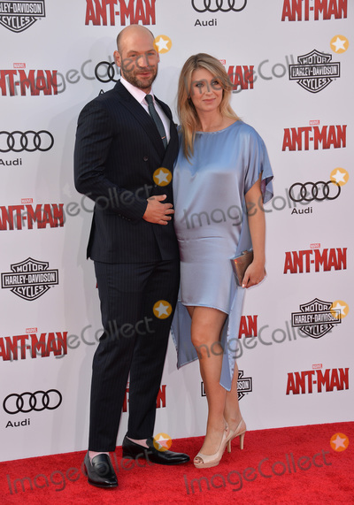 Corey Stoll Photo - Actor Corey Stoll  wife Nadia Bowers at the world premiere of his movie Ant-Man at the Dolby Theatre HollywoodJune 29 2015  Los Angeles CAPicture Paul Smith  Featureflash