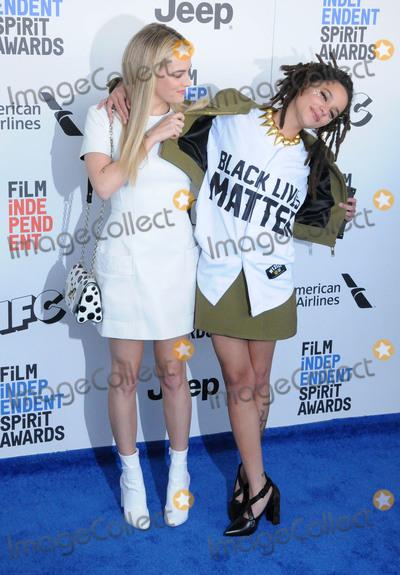 Sasha Lane Photo - SANTA MONICA CA - FEBRUARY 25  (L-R) Actresses Riley Keough and Sasha Lane attend 2017 Film Independent Spirit Awards on February 25 2017 in Santa Monica California  (Photo by Barry KingImageCollectcom)