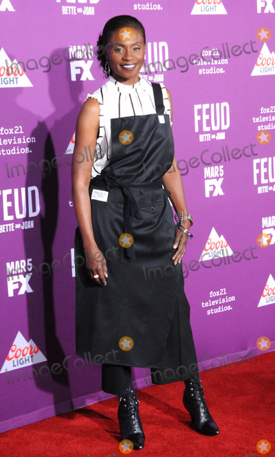 Graumans Chinese Theatre Photo - HOLLYWOOD CA - MARCH 1  Actress Adina Porter attends Red Carpet Event for FXs Feud Bette And Joan at Graumans Chinese theatre on March 1 2017 in Hollywood California  (Photo by Barry KingImageCollectcom)